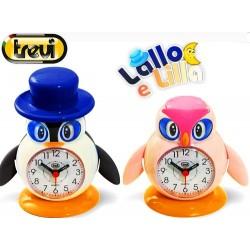 Ξυπνητήρι παιδικό TREVI SL 3045 Lallo & Lilla