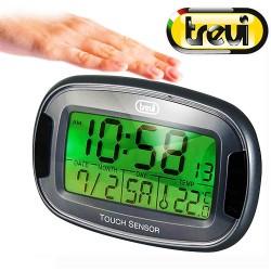 TREVI SLD 3070 Ρολόι – ξυπνητήρι με ενδείξεις θερμοκρασίας – ημερομηνίας αφής