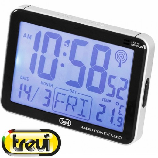 TREVI SLD 3101 Ρολόι – ξυπνητήρι – ημερολόγιο